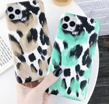 Leopard Pattern Phone Case For iPhone 11 Pro Max X XS XR Xs Max 6 6s 7 8 Pluscases - Kalsord