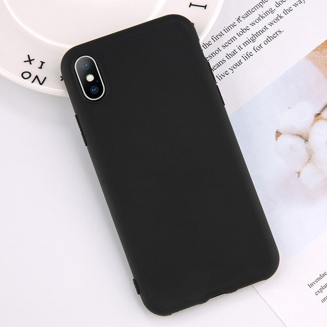 timeless design 917bf 0ca11 Minimalist Heart Phone Case for iPhone XS Max XR Xs X 6 6S 7 8 Plus