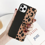 Leopard Print Pattern Phone Case For iPhone 11 Pro Max XS XR XS Max TPU Silicone Phone Cover For iPhone 7 8 6 6s Pluscases - Kalsord