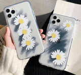 Transparent Soft Daisy Graffiti Phone Case/Cover For iPhone 11 Pro Max X XR Xs Max 7 8 Pluscases - Kalsord