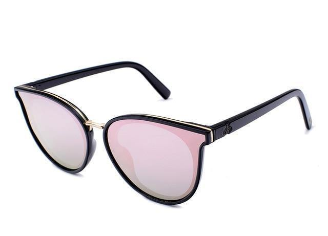 Women's Cat Eye Polarized Mirror Sunglassessunglasses - Kalsord