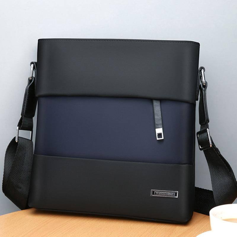 Men's Nylon Business Casual Shoulder Bag Fits 10.1 inch Tablet For Everyday Use | Travel - Kalsord