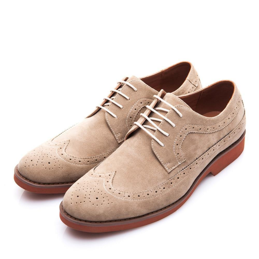 Men's Classic Brogue Shoes - Kalsord