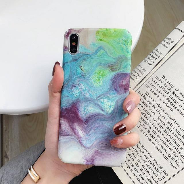 Luxury Colorful Abstract | Exotic Pattern Case for iPhone XR X iPhone 7 8 Plus XS Max 6s iPhone 11 11 pro 11 pro Maxcases - Kalsord
