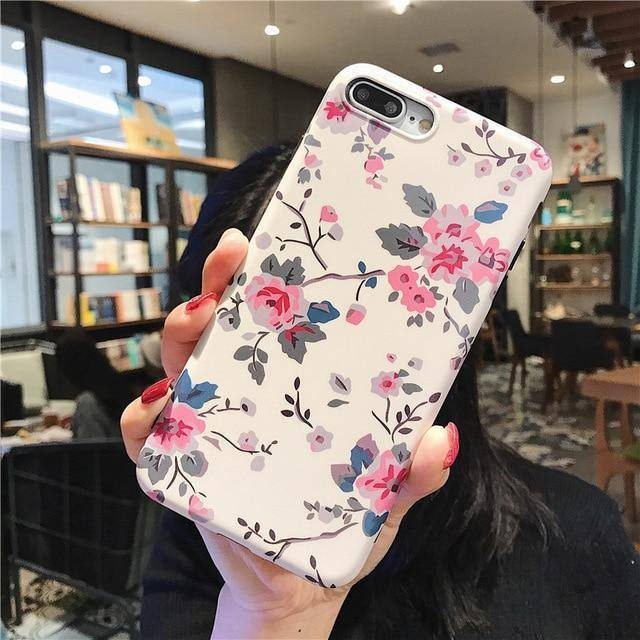 Flowers | Floral Phone Case For iPhone X 7 8 Plus 6 s X Xs 11 Pro Max XRcases - Kalsord