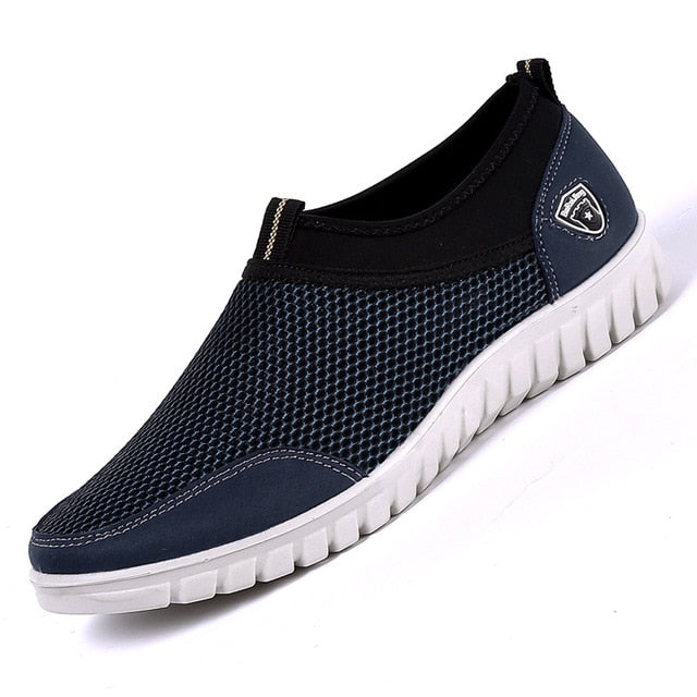 Men's Slip-On Mesh Breathable Loafer - Kalsord