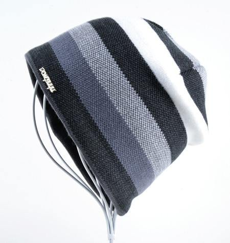 Multi-Color Striped BeanieBeanies - Kalsord