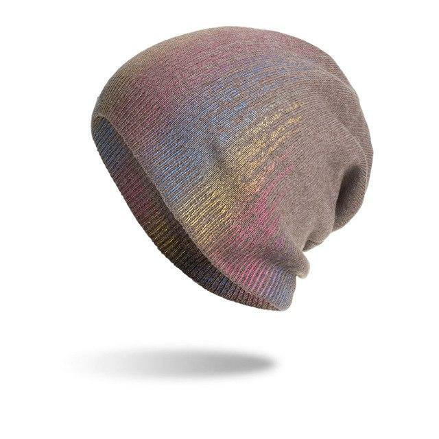 Women's Rainbow Winter Beanie- 6 ColoursBeanies - Kalsord