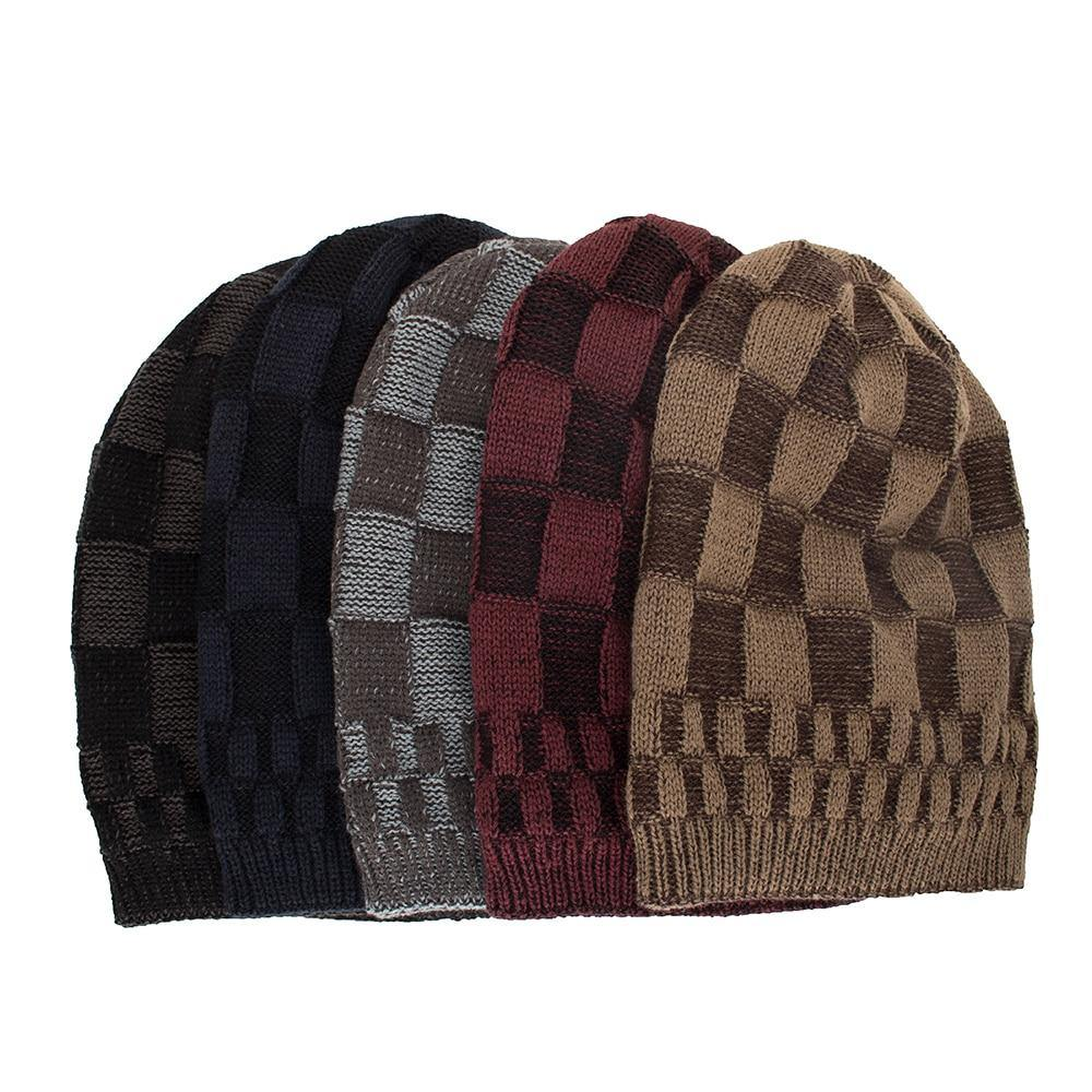 Checkered Beanie- 5 ColoursBeanies - Kalsord