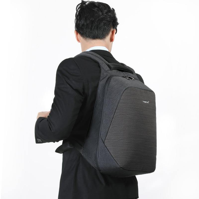 Men's Casual 15in Travel Laptop Backpack w/ USB PortBackpack - Kalsord