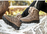 Men's High Quality Snow Boot- Black, Brown - Kalsord