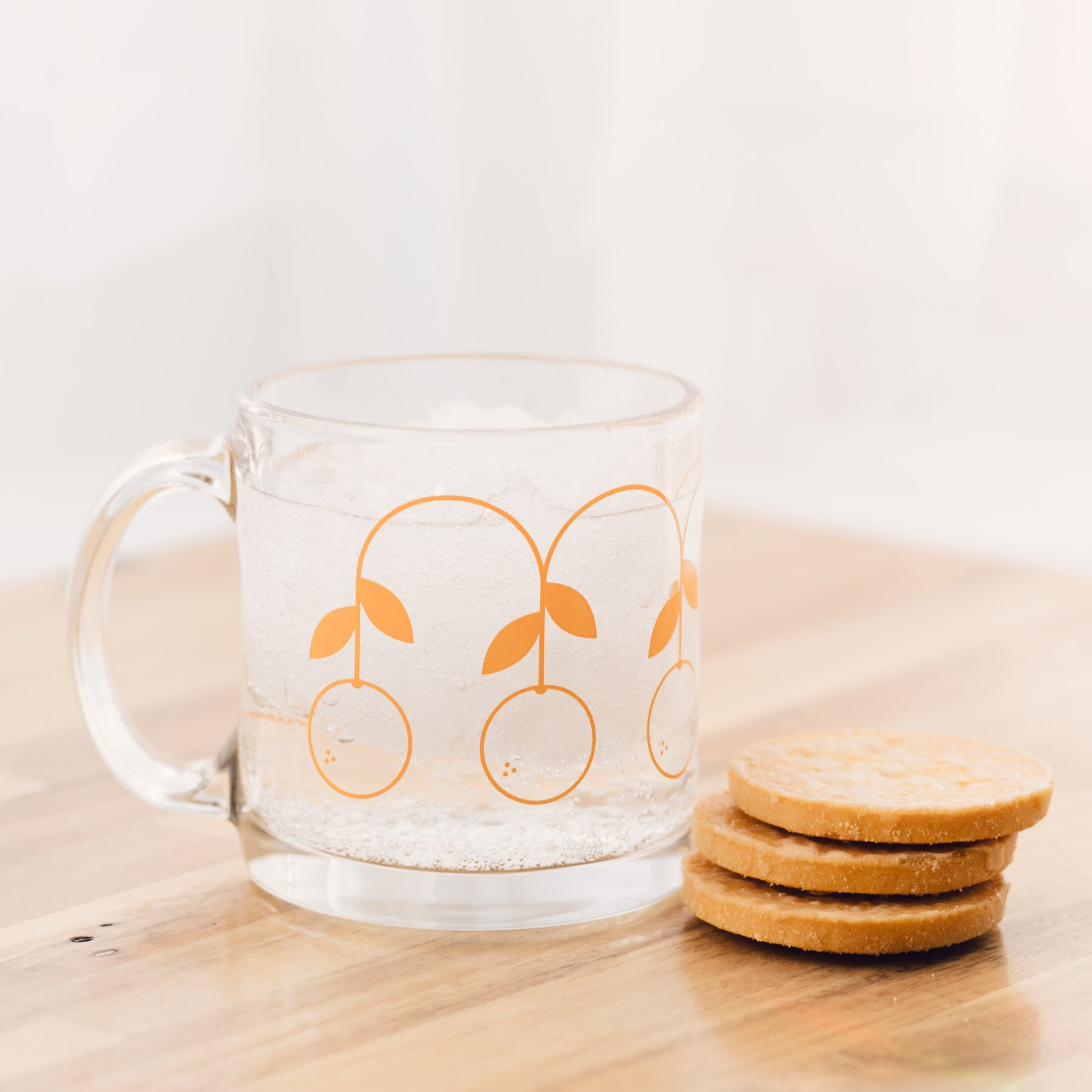 Glass Mug - Oranges