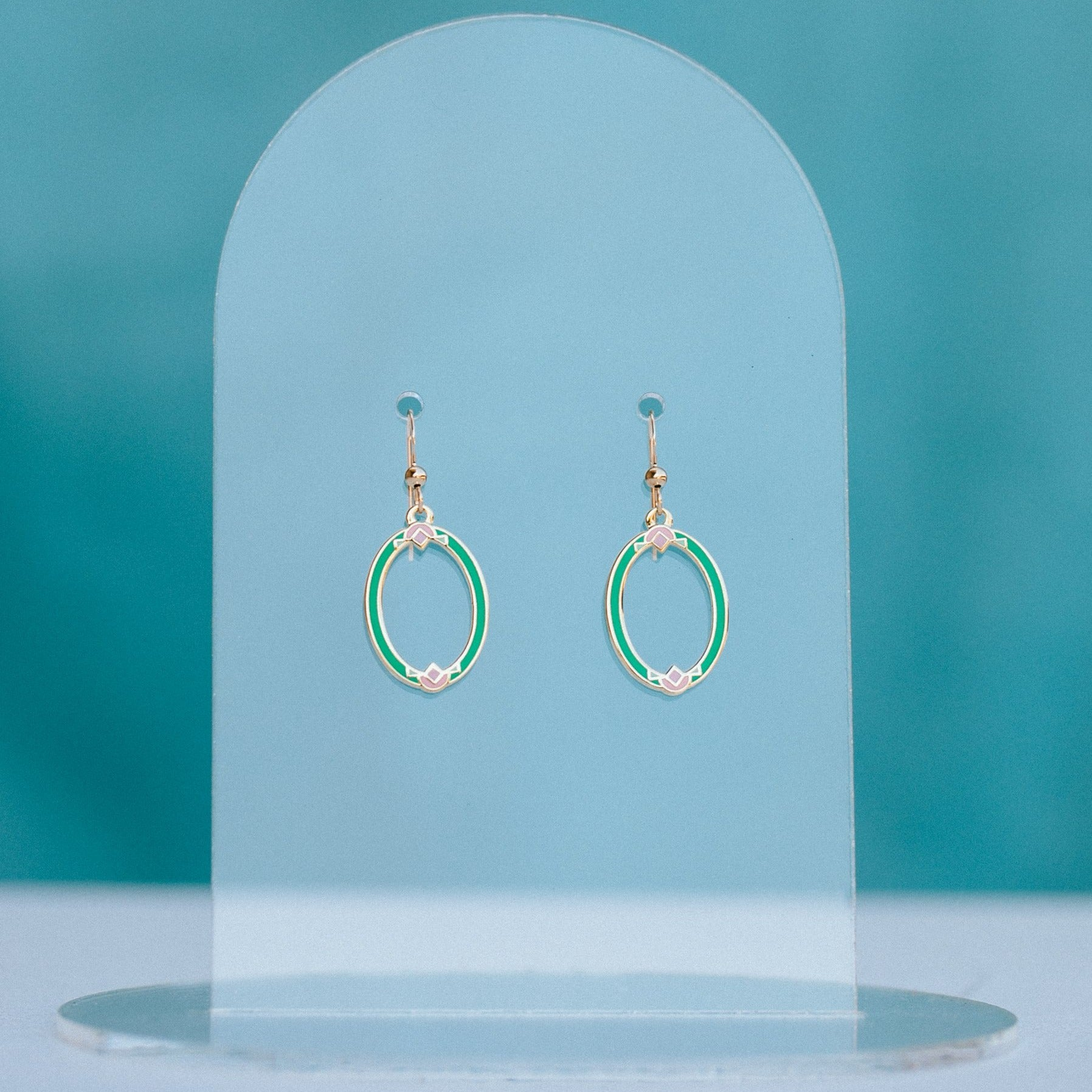 Geo - March19 - Art Deco Earrings