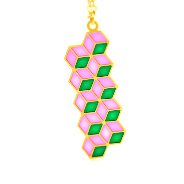 Geo - Translucent Necklaces
