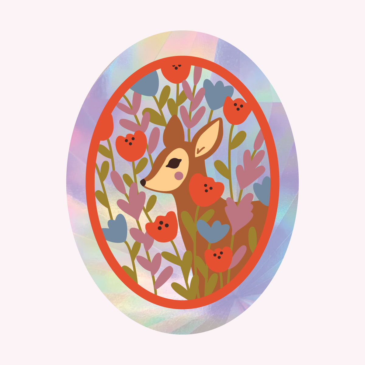 Sun Catcher Decal - Deer with JUSTINE GILBUENA