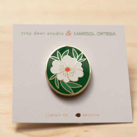 Floral Pin with Marisol Ortega