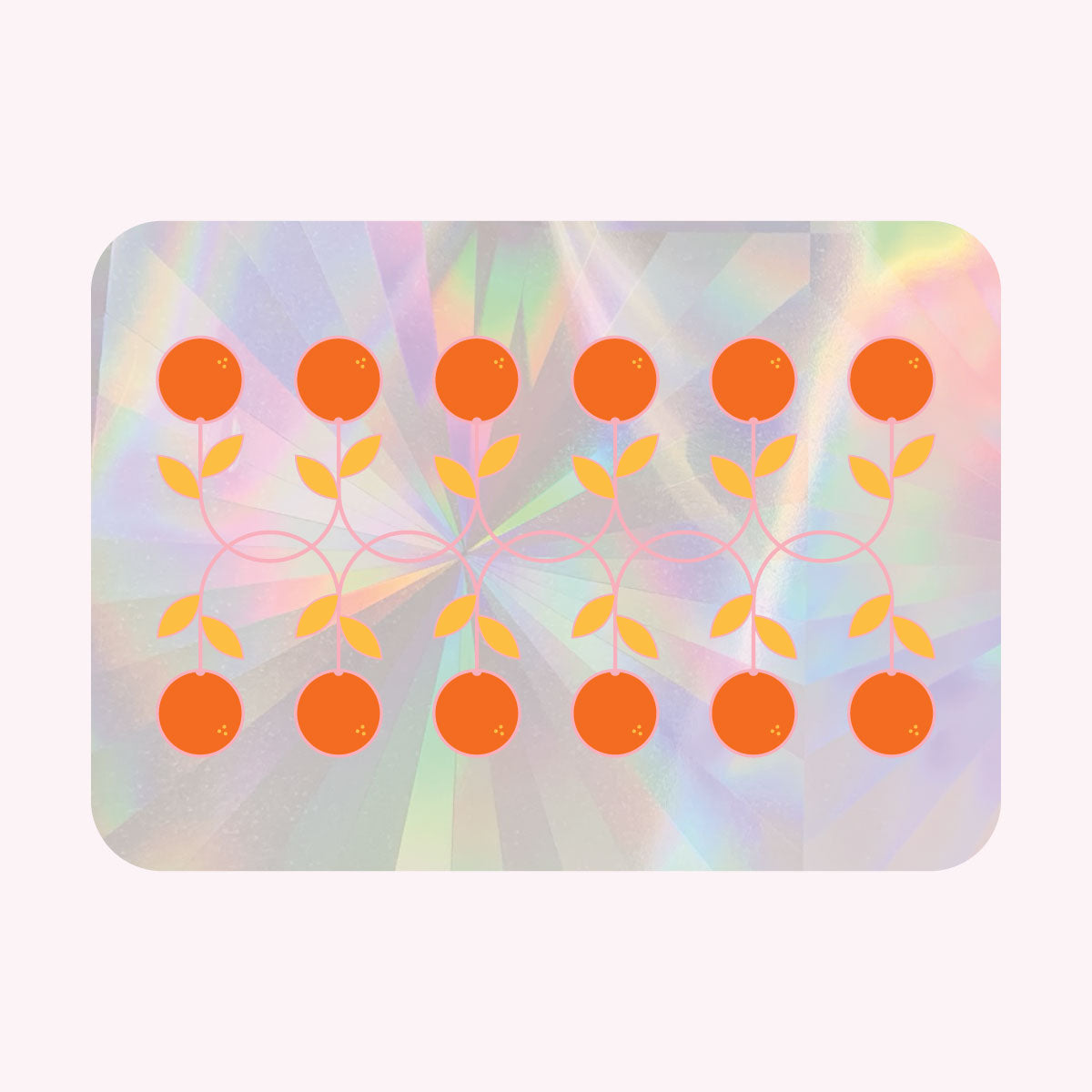 Sun Catcher Decal - ORANGES