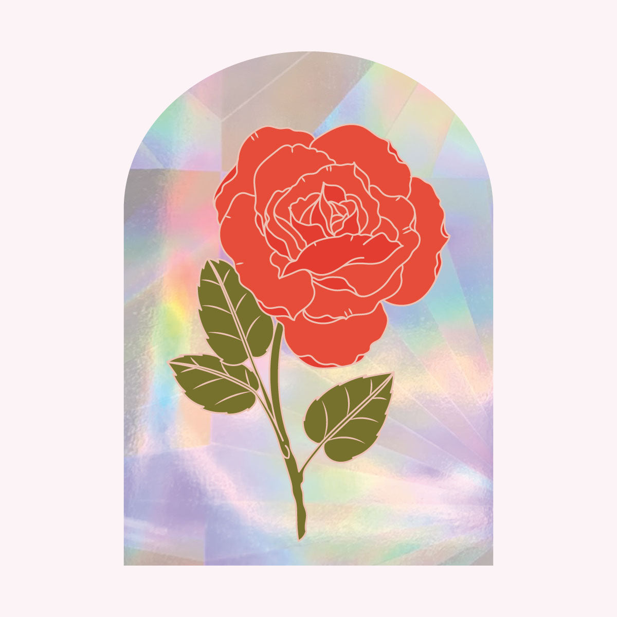 Sun Catcher Decal - ROSE