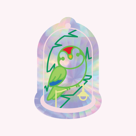 Sun Catcher Decal - Bell Jar with MOCHICHITO