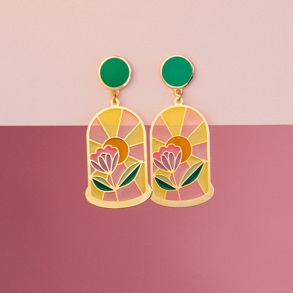 PREORDER: Bell Jar Translucent Drop Earrings by Have A Nice Day (PAIRS)