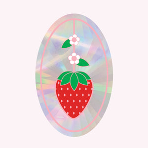 Sun Catcher Decal - STRAWBERRY