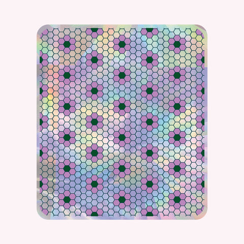 Sun Catcher Decal - HEX TILE (LARGE)