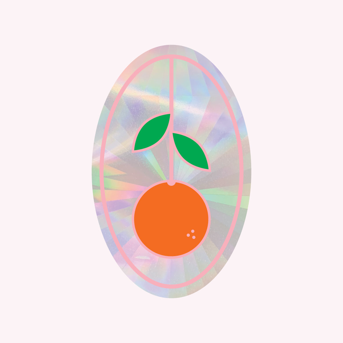 Sun Catcher Decal - ORANGE