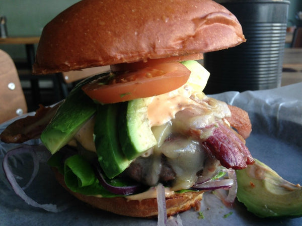 Californian burger recipe|