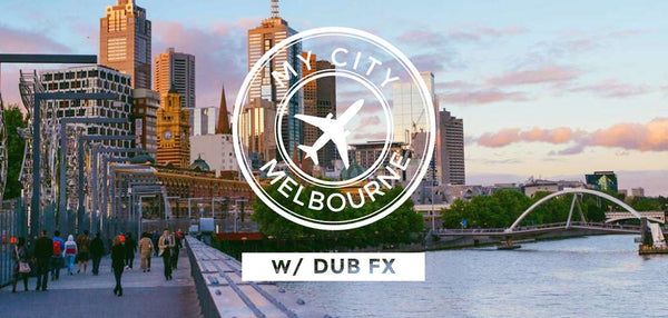A Guided Tour of Melbourne With Dub FX