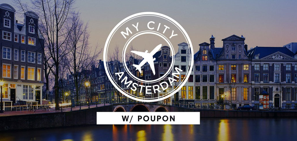 Amsterdam City Guide with House Producer Poupon
