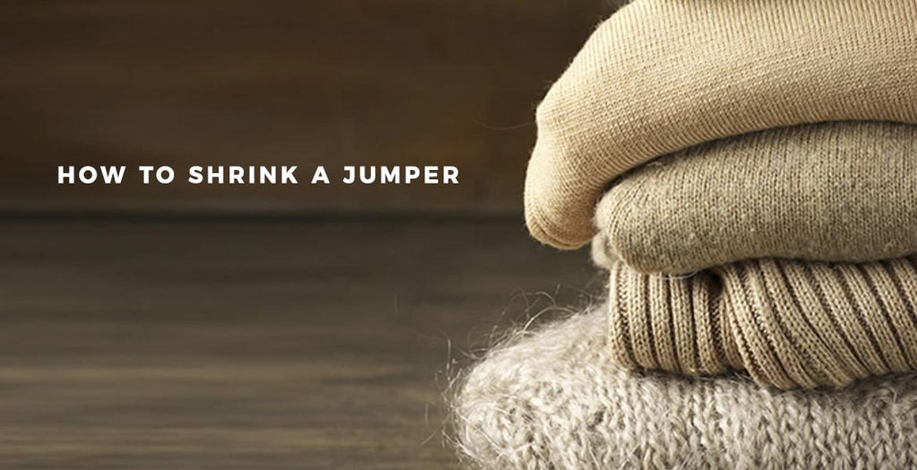How to Shrink a Jumper
