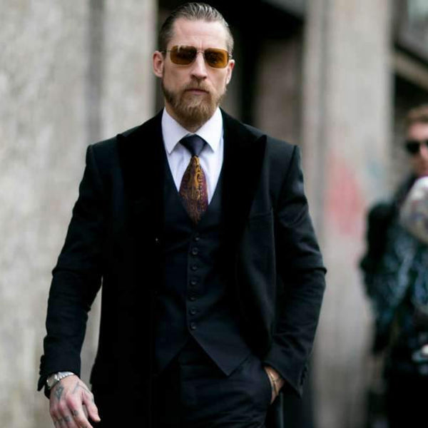 How to Choose and Style Black and Charcoal Suits