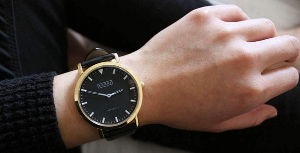 The Best Black Leather Strap Watches in Store Now