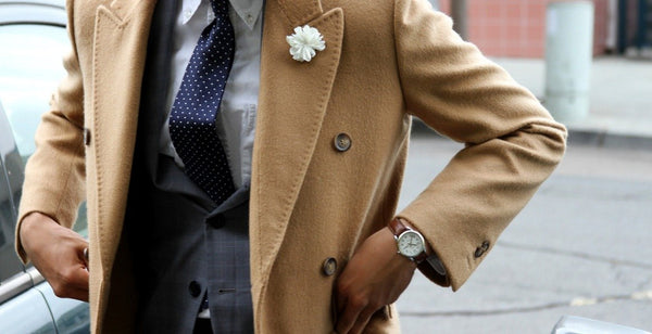 How to Wear a Camel Coat