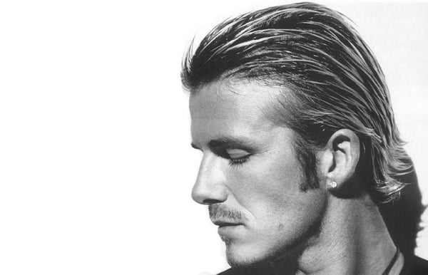 How to Get David Beckham's Long Hair
