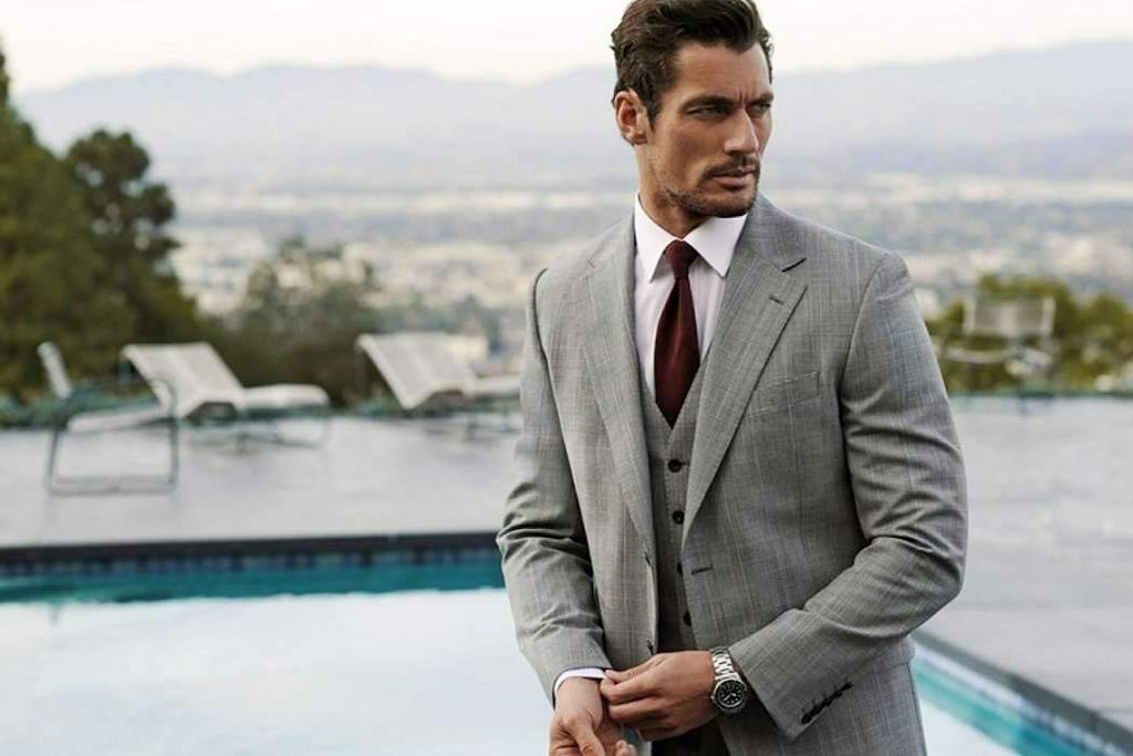 Get A Well Tailored Suit Like David Gandy