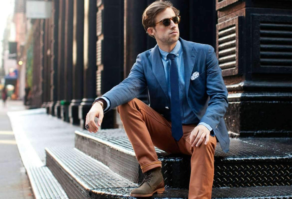 How to Dress if You're Short and Stocky