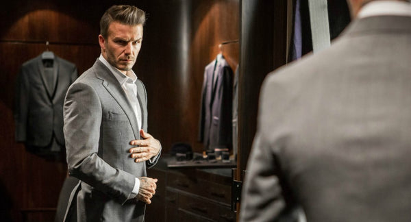 How to Pull off a Suit like David Beckham