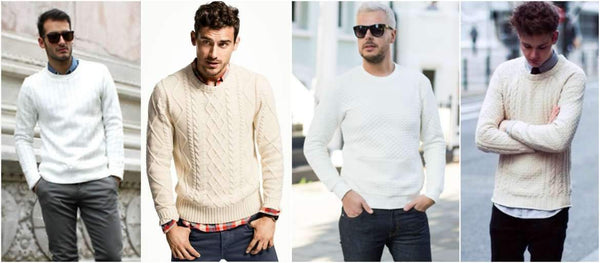 How to Pull Off a White Jumper in Style This Season