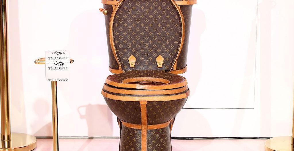 louis vuitton toilet tradesy|louis vuitton toilet