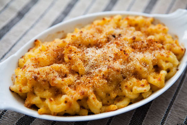 mac and cheese recipe from Anna Mae's|||