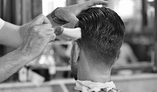 mens barbering|Porters barbers side parting|Blowdry|Curly hair porters barbers|cut throat razors