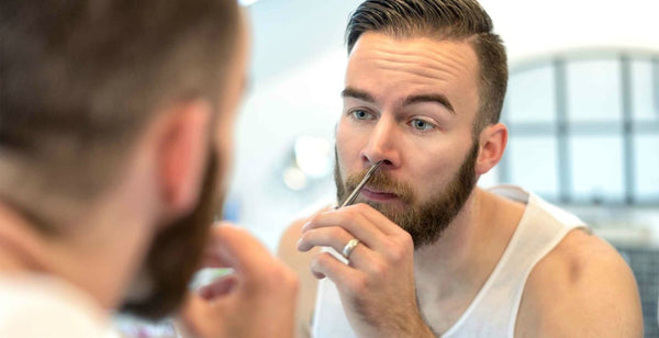 mens-nose-hair-grooming|male-nose-trimmer|Plucking-Your-Nose-Hair-mens-grooming