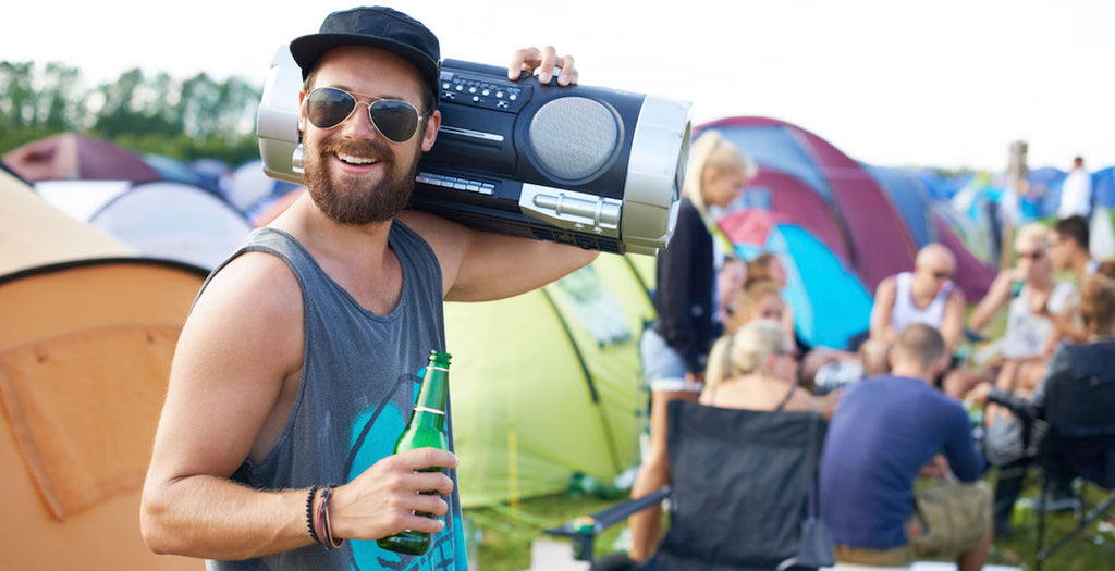 How to Survive Camping at a Festival