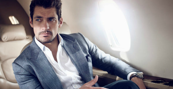 Men's Grooming Essentails for When You're on a Plane