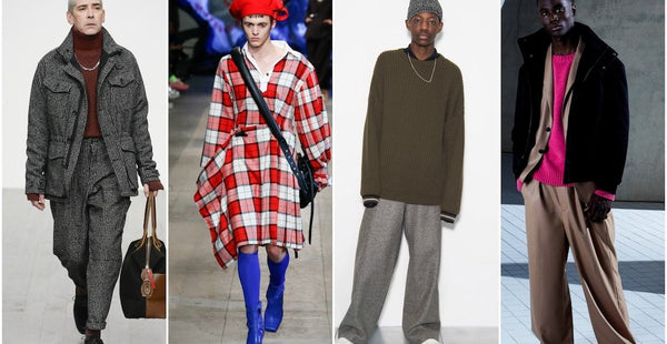 menswear trends 2018-min|baggy trousers aw18-min|check trend mens aw18-min||trends aw18 menswear|oliver spencer aw18 mens|Brad Pitts loves his white shirts PHOTO CREDIT: Pinterest|belstaff aw18 mens