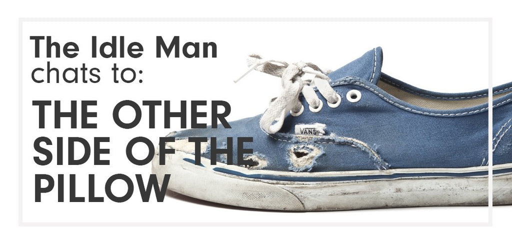 The Idle Man Chats To - The Other Side Of The Pillow|vans off the wall|Vans Era blue red blue|Vans Steve Caballero|Vans Fast Times At Ridgemont High|Vans Off The Wall|Vans World's Number One Skateboard Shoes