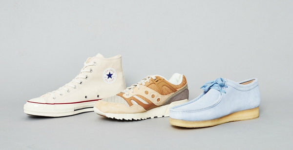 New In: Clarks, Converse and Saucony