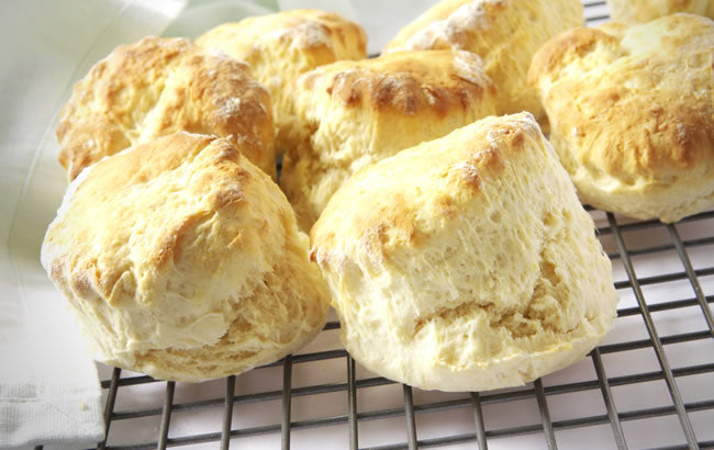 Cooked Honey Scones