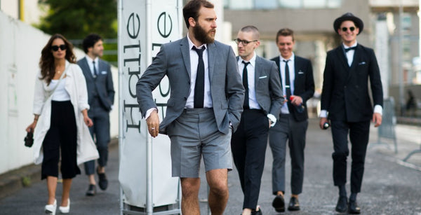 How To Pull Off A Short Suit This Summer